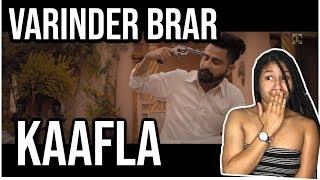 (PUNJABI) Varinder Brar- Kaafla | AMERICAN Reaction Video