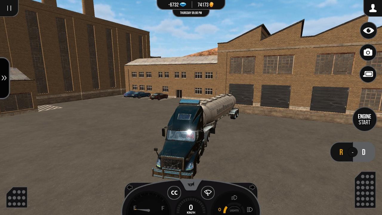 TSP2 | volvo vnl con destino a los ángeles | truck simulator pro 2 | Simuladores Android