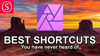 BEST Shortcuts, you have (probably) never heard off - Affinity Photo