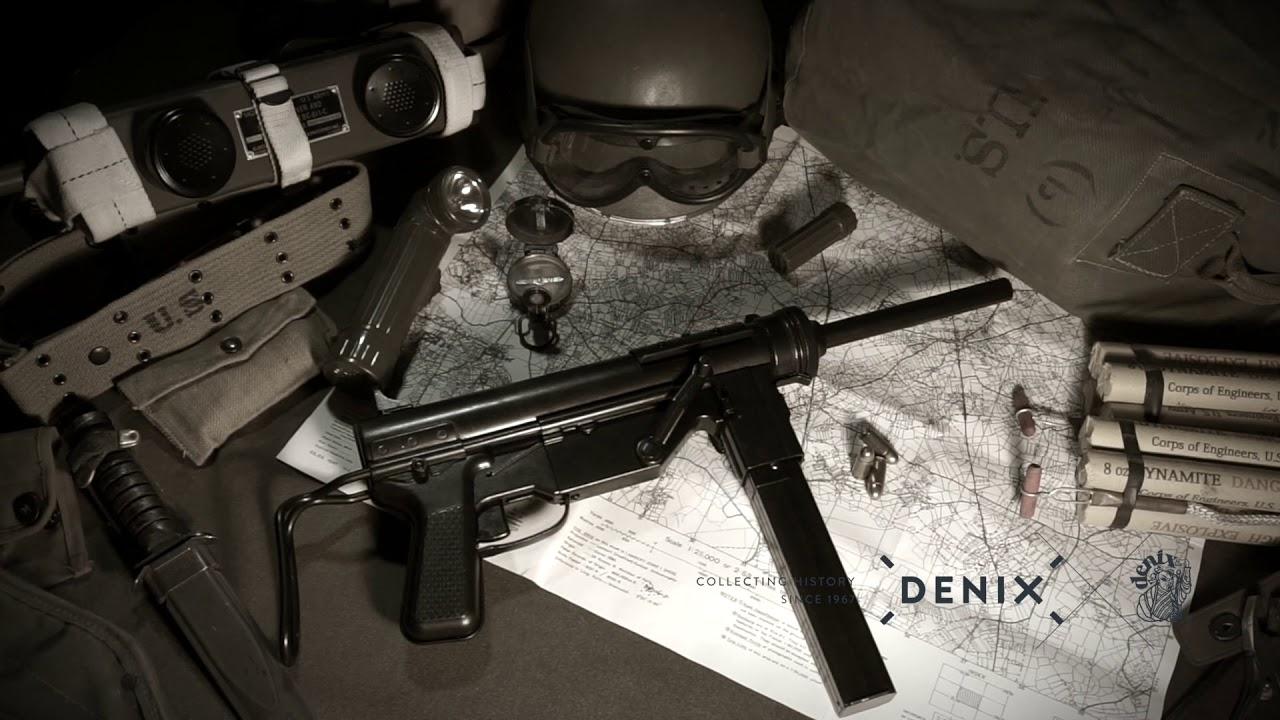 DENIX Replica - M3 SUBMACHINE GUN CAL   45