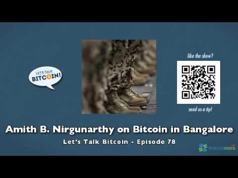 Amith B. Nirgunarthy On Bitcoin In Bangalore
