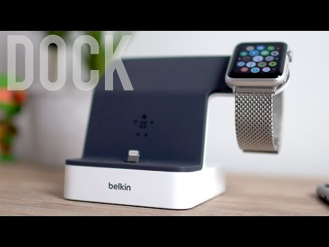 Le Meilleur Dock Pour IPhone Et Apple Watch !
