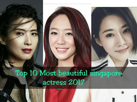 Top 10 Most beautiful singapore actress 2017