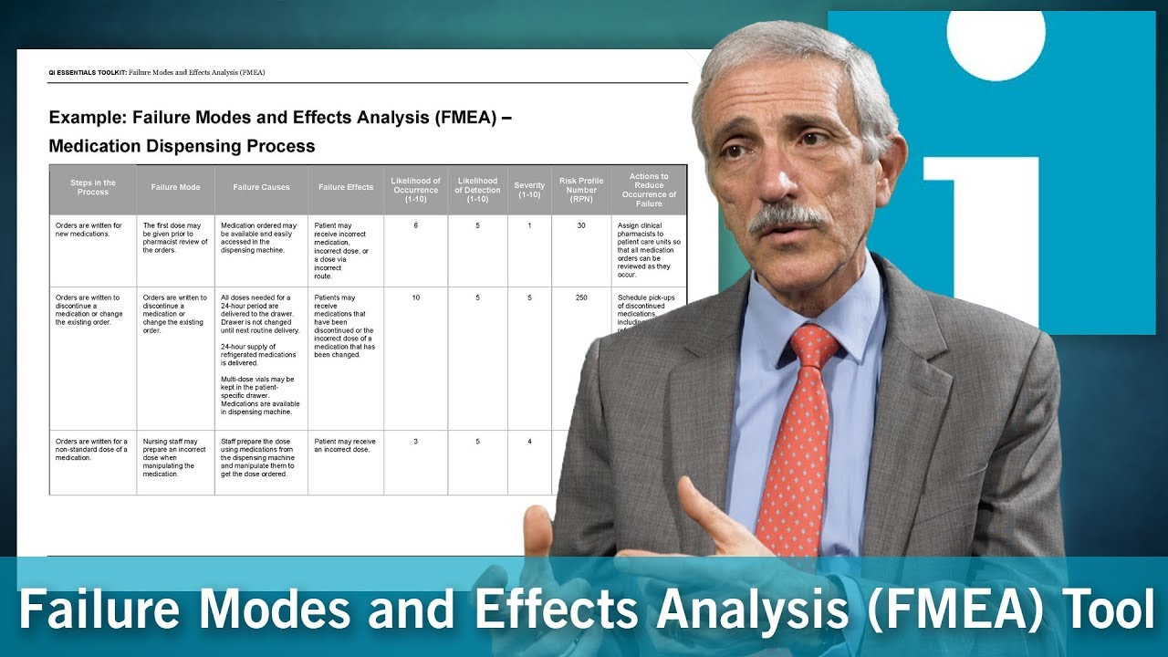 Download An Overview of the Failure Modes and Effects Analysis (FMEA) Tool