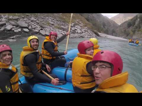 Rafting Shotover River, Queenstown