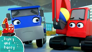 Rain Rain Go Away Song! Digley & Dazey | Nursery Rhymes & Kids Songs | Little Baby Bum
