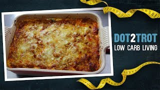 Zoodle Spaghetti Casserole | Low Carb