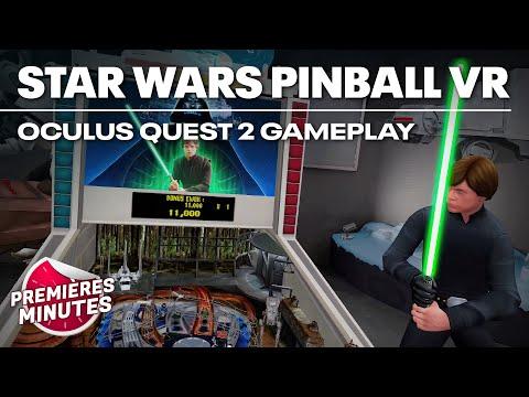 Star Wars Pinball VR - Gameplay Oculus Quest | Quest 2