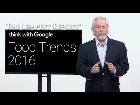 Google Gets Into Food Trends
