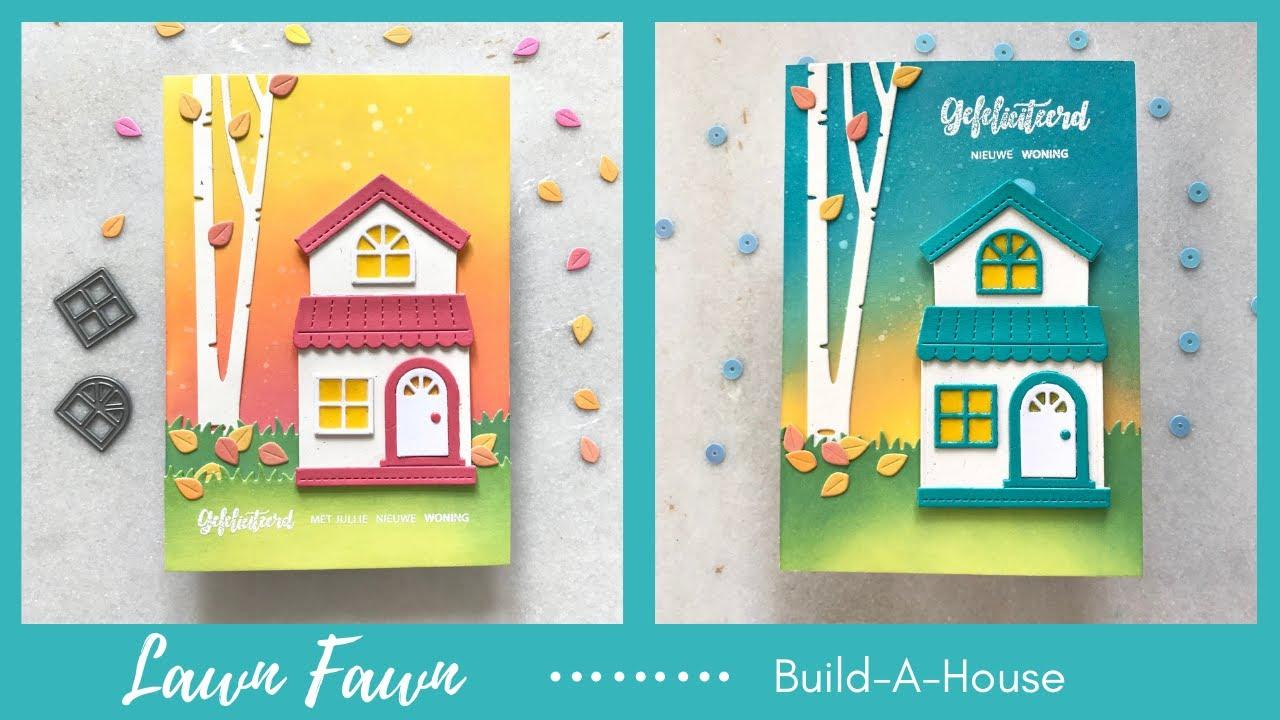 Lawn Fawn Build-A-House에 대한 이미지 검색결과