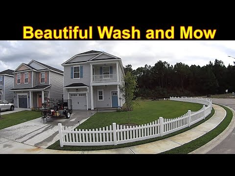 A Full House Wash with a Side of Lawn Mowing Please! #SideHustle