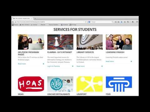 University of Helsinki New International Student Orientation in a Nutshell Part 1 Before Arrival