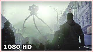 Огромные треноги выбираются из-под земли   Война миров (2005)