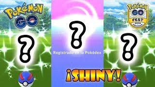 ¡ÉPICAS CAPTURAS!¡CONSIGO TRES SHINYS, NUEVO REGISTRO y EVOLUCIONES GO FEST!¿100% IV? | Pokémon GO