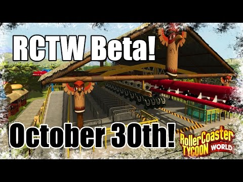 Roller Coaster Tycoon World News: Beta information! (Production Blog #21)