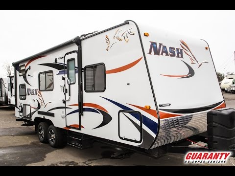 2017 Northwood Nash 23 B Travel Trailer Video Tour • Guaranty.com