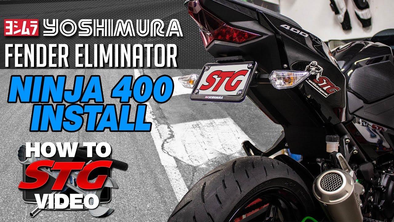 Tail Tidy 2018+ Vagabond Motorsports Kawasaki Ninja 400