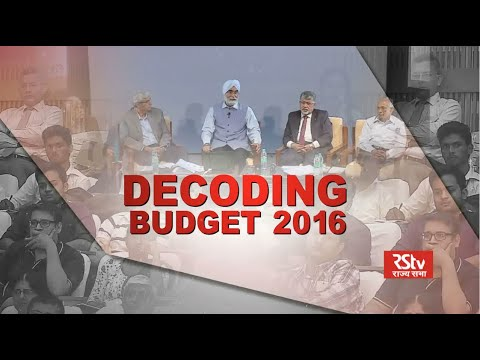 Demystifying the General Budget 2016-17 | IIM Bangalore