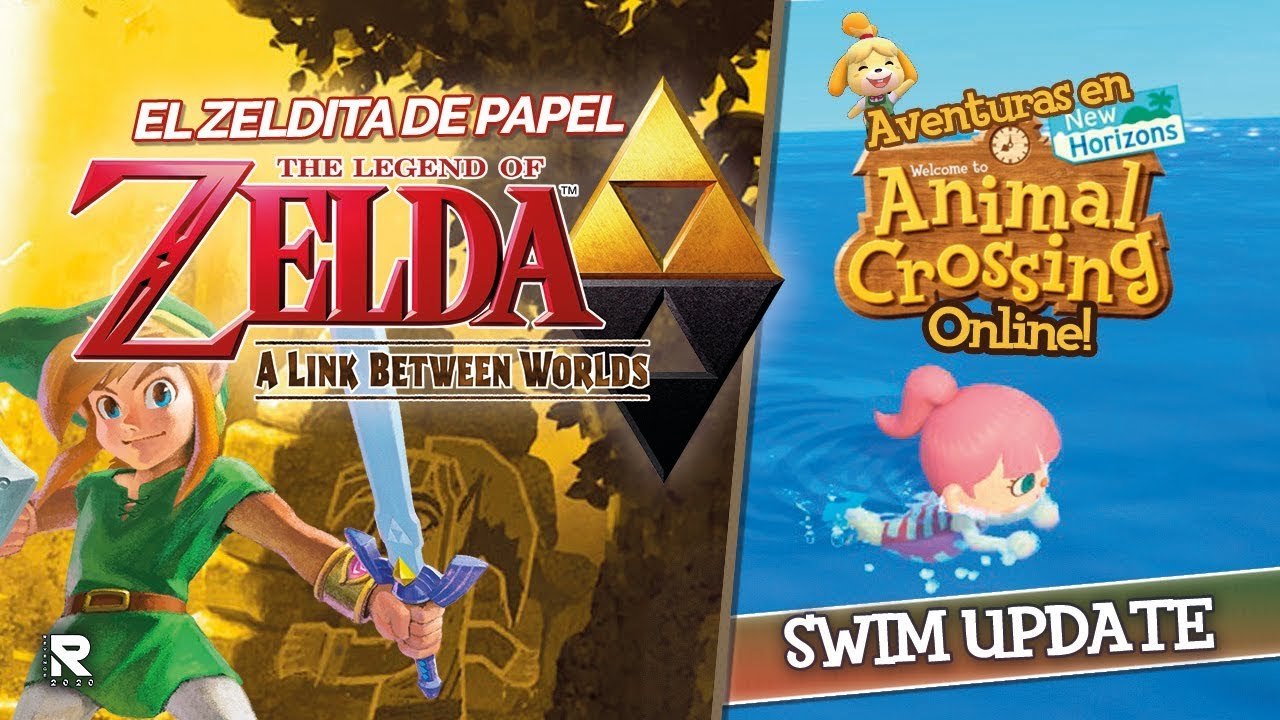 BEST ZELDA DE 3DS: TLOZ: A LINK BETWEEN WORLDS / VOLVIMOS A AC ONLINE: SWIM UPDATE!