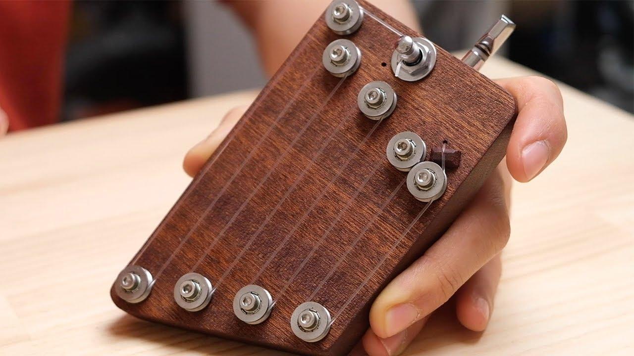Wooden Hand Harp