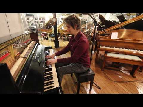 Steinway Model Z Upright Piano at Sherwood Phoenix Pianos