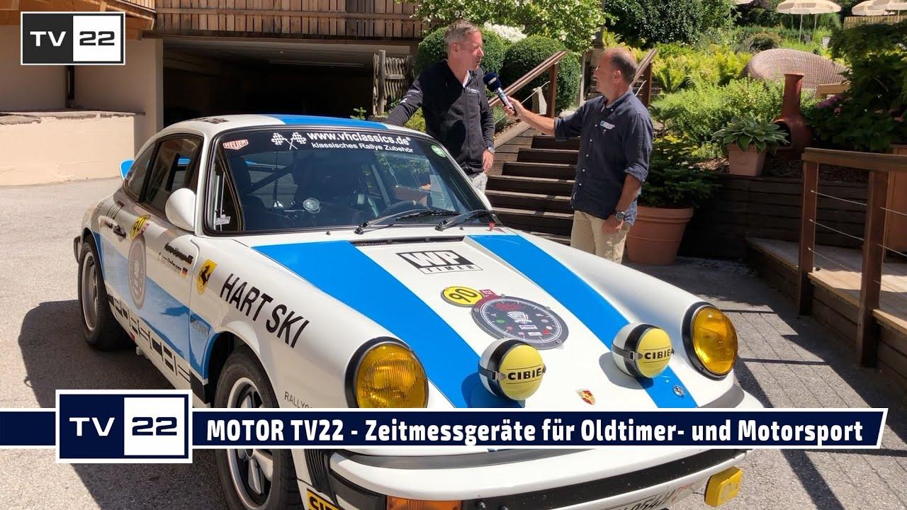 MOTOR TV22: Wie funktioniert das mit der Zeit- und Weg-Messung bei einer Oldtimer Rallye?