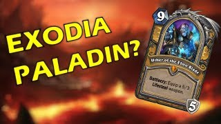 Hearthstone - Paladin Death Knight Card - EXODIA?