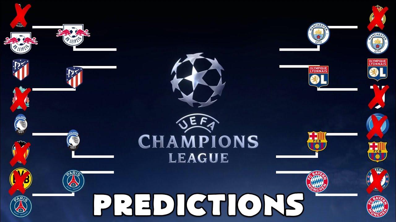 Champions League quarter-final and semi-final line-up