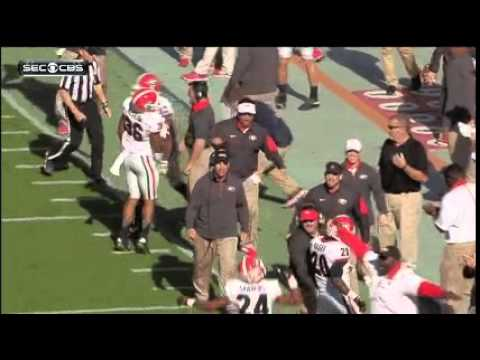 Georgia Coach Injures His Own Player After Celebrating