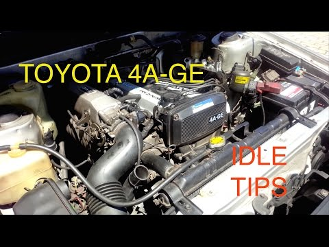 Fixing idle problems on Toyota 4AGE Engine (Fuel Mixture, Dirty Throttle, Vac Leaks, ISC Valve...)
