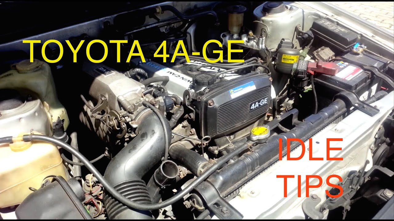 Fixing idle problems on Toyota 4AGE Engine (Fuel Mixture, Dirty Throttle, Vac Leaks, ISC Valve