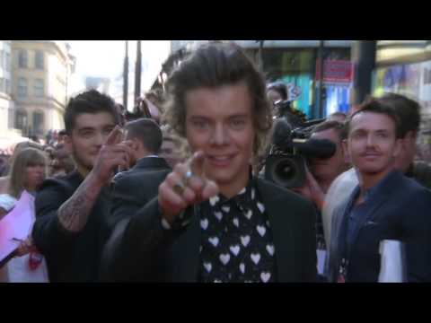 One Direction: This Is Us: 1D Having Fun at the Premiere