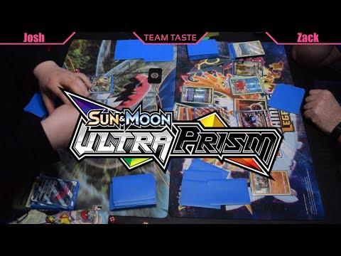 Leafeon GX/Zoroark vs Buzzwole Lycanroc! (Ultra Prism Legal!)