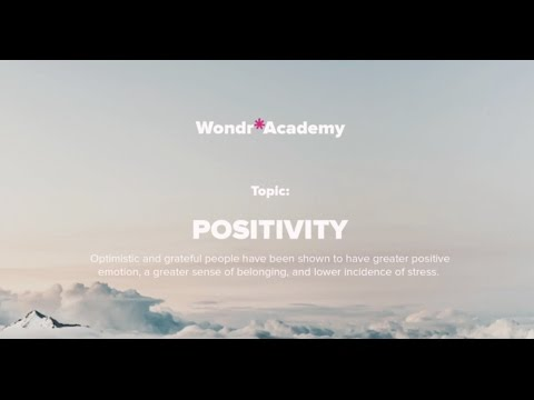 Talk 2 Topic: Positivity - Heyrick-Bond Gunning, Business owner, Ex-army Officer, Writer