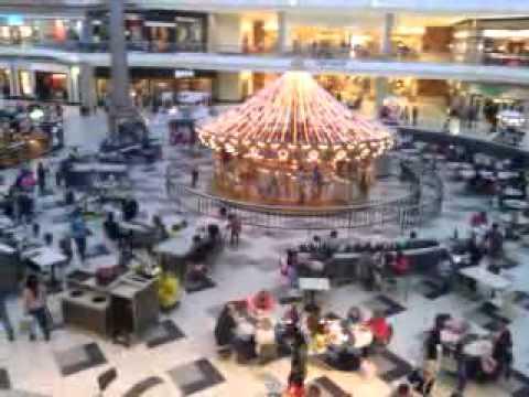 Indoor Carousel Galleria Mall Birmingham Alabama Youtube