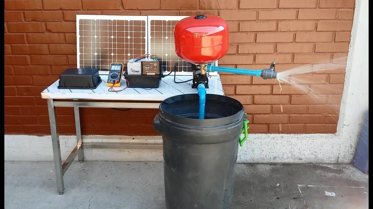 Exclusivo bomba energia solar riego y presurizadora for Bomba para riego de jardin