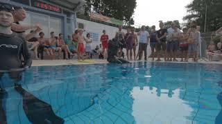 GWR Longest Underwater Walk Thomas Plum Underwater View