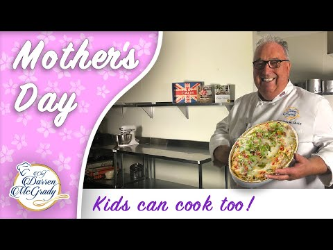 Mothers Day Brunch the kids can cook! Perfect to drop off on Mom's porch during self isolation