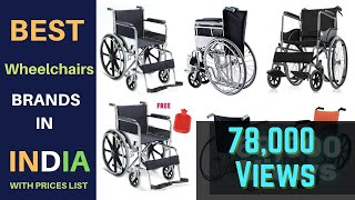 Best Wheelchairs Brands in India 2019 with Prices List