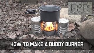 How to Make a Buddy Burner