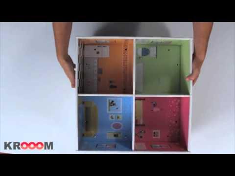 Casa de mu ecas de carton melrose en www - Como hacer una maqueta de una casa ...