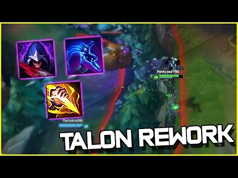 NEW TALON REWORK IS BUSTED! - Jungle Gameplay | League of Legends