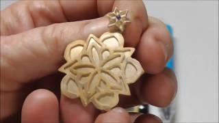 Mandala Made With Cricut Explore & Aussie Premium Gold Bronze
