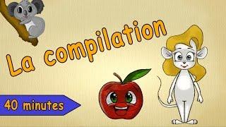L'alphabet Entier - Alphabet En Francais - Comptines Et Chansons Pour Enfants
