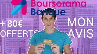 BOURSORAMA, BONNE BANQUE ? Mon avis + code promo parrainage