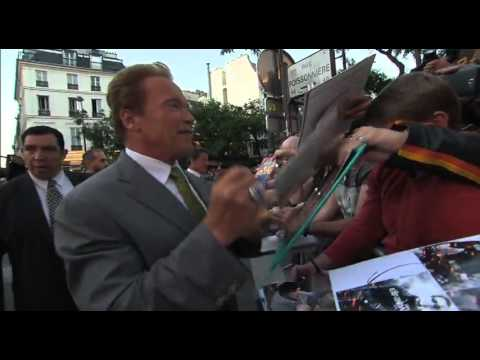 The Expendables 2 Red Carpet Premiere in Paris