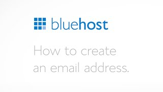 How to create an email address.
