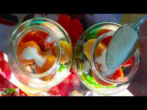 Ленивый рецепт на раз-два! Овощное ассорти из помидор и огурцов на зиму без варки и без стерилизации