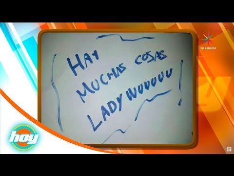 Marifer Centeno analiza la letra de #LadyWuuu   Sé lo que estás pensando...   Hoy