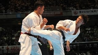 THE 45TH ALL JAPAN OPEN KARATE TOURNAMENT men 4th round Kazufumi Sh...